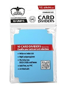 Ultimate Guard Card Dividers - Light Blue
